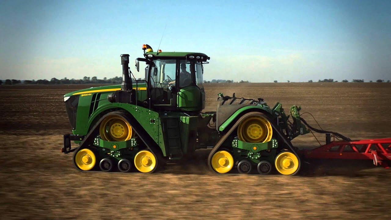 tracteur john deere 9rx youtube. Black Bedroom Furniture Sets. Home Design Ideas
