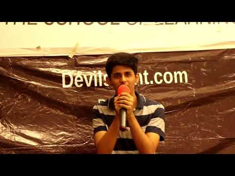 song performance by  SHASHANK