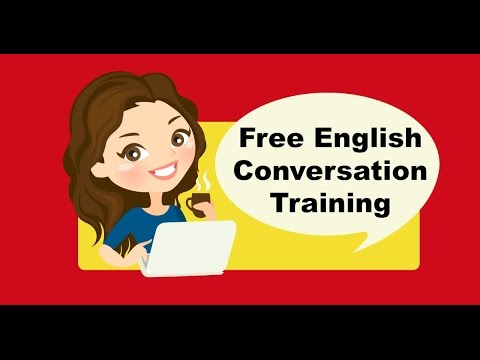 Free English Conversation Training