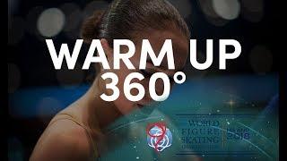 Alina Zagitova Warm Up Session #WorldFigure - Milano 2018
