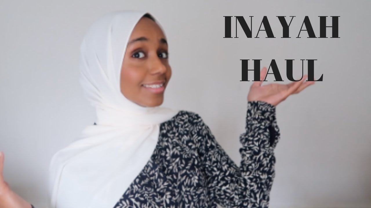 63d60a89ab1a9 muslim modest clothing haul from Inayah collection - YouTube