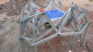 8 LEGGED WALKING ROBOT R&D BY ( VIKITH M & VISHWAS SHETTY, MANGALORE)