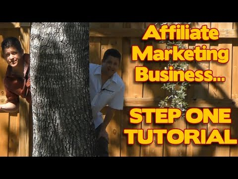 Affiliate Marketing: DO THIS FIRST – The First Step To Set Up Your Affiliate Business