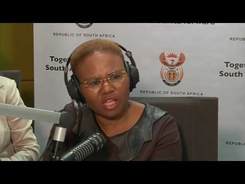 Minister Lindiwe Zulu gives advice to entrepreneurs