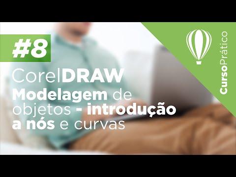 Curso prático de CorelDRAW #8 - Modelagem de objetos, introdução a nós e curvas