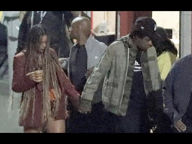 Beyonce and Jay Z refuse to talk to Kanye and Kim at Travis Scott concert