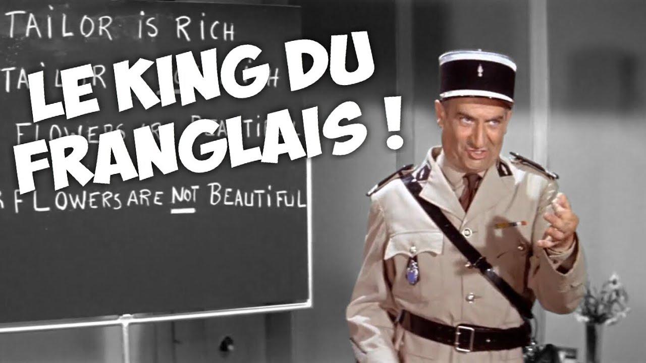 """Résultat de recherche d'images pour """"3 minutes de langues étrangères avec Louis de Funès !"""""""