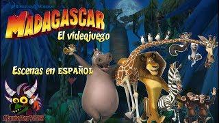 Madagascar 1 El Videojuego Escenas Espanol Algunos Momentos En Juego Youtube
