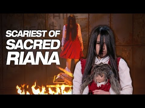 The Sacred Riana's Full SCARY Performances On AGT - America's Got Talent 2018