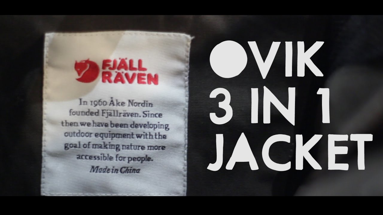 Fjal Raven Ovik 3 in 1 Jacket Review