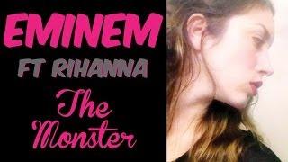 eminem the monster ft rihanna cover