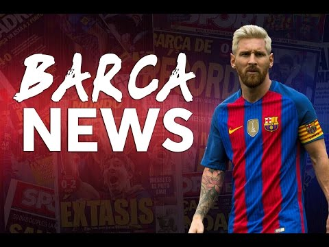 Messi's injury | Ronaldinho signs for FC Barcelona! | BARCA NEWS