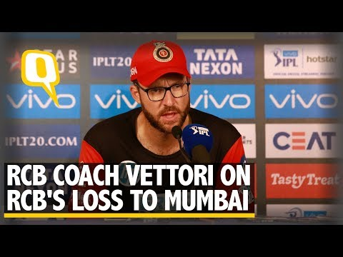 RCB's ability to close an innings has been poor, says Coach Vettori | The Quint