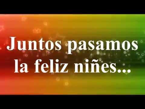 Adios amigo fiel version infantil almazo music youtube for Cancion adios jardin querido