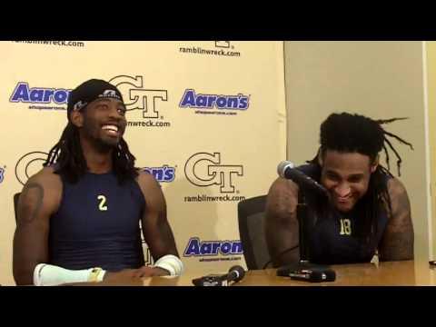 Georgia Tech Football - Anthony Allen and Mario Butler