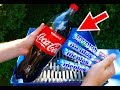 SHREDDING MENTOS AND COCA COLA! EXPLOSION EXPERIMENT!