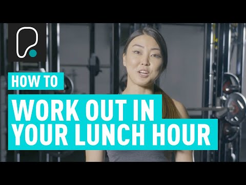 How To Fit A Workout In Your Lunch Hour | Top Tips