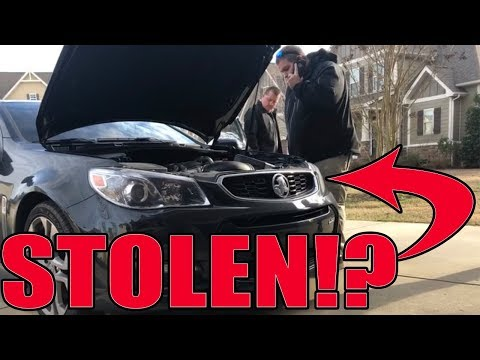 Cops said I bought a STOLEN car!!! Heres the story...