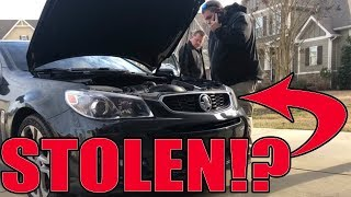 Cops said I bought a STOLEN car!!! Here