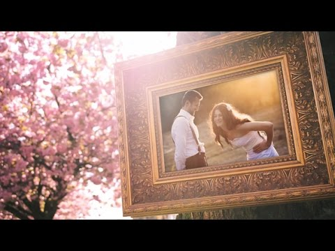 wedding-photo-gallery-in-a-cherry-blossom-alley-|-after-effects-project