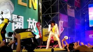 20120728*  CUXI巨星演唱會[高雄]-  蕭敬滕 王妃