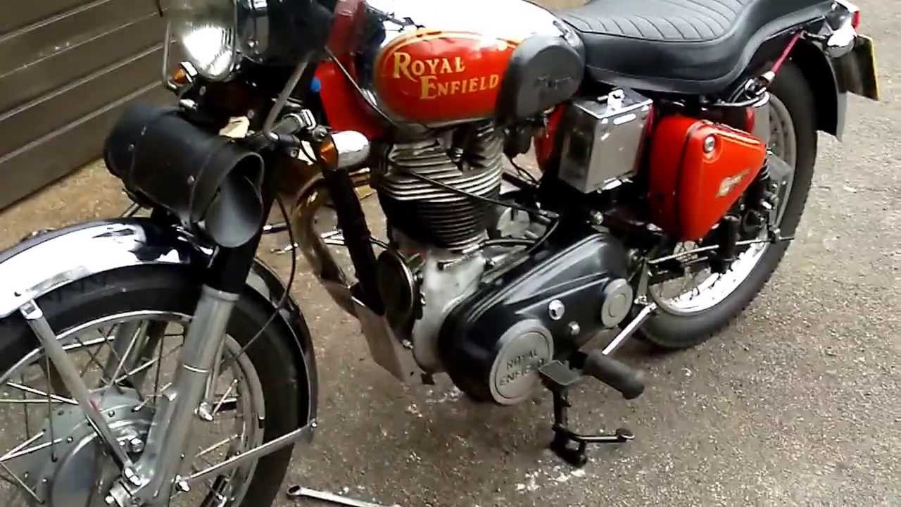 how to clean royal enfield engine