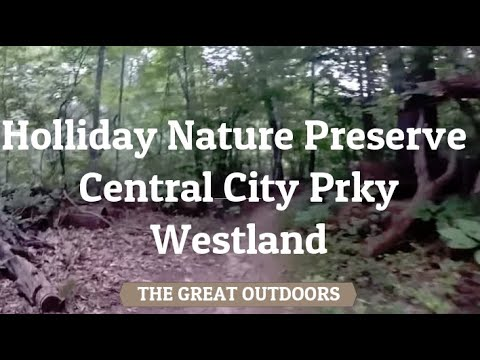 Holliday Nature Preserve, Central City Prky, Westland, MI [HD] 20 min