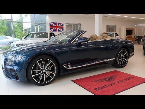 Droptop Opulence | The 2020 Bentley Continental GT Convertible