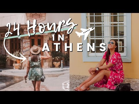 24 HOURS IN ATHENS, GREECE | WHERE TO EAT, AIRBnB TOUR, FIRST IMPRESSIONS