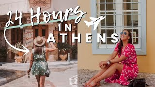 Gambar cover 24 HOURS IN ATHENS, GREECE | WHERE TO EAT, AIRBnB TOUR, FIRST IMPRESSIONS