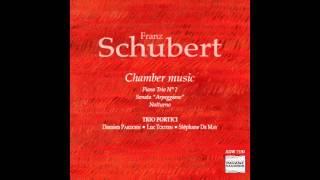 """Trio Portici - Schubert: Piano Trio No. 2, Sonata """"Arpeggione"""" & Notturno"""