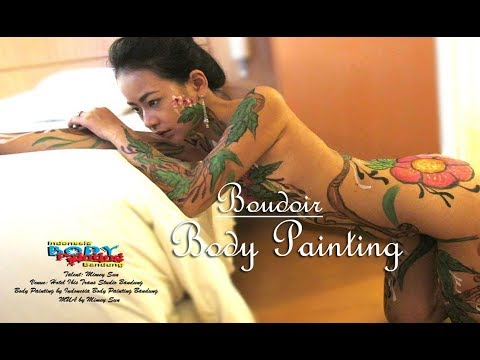Boudoir Body Painting | Indonesia Body Painting | Indobodypainting thumbnail