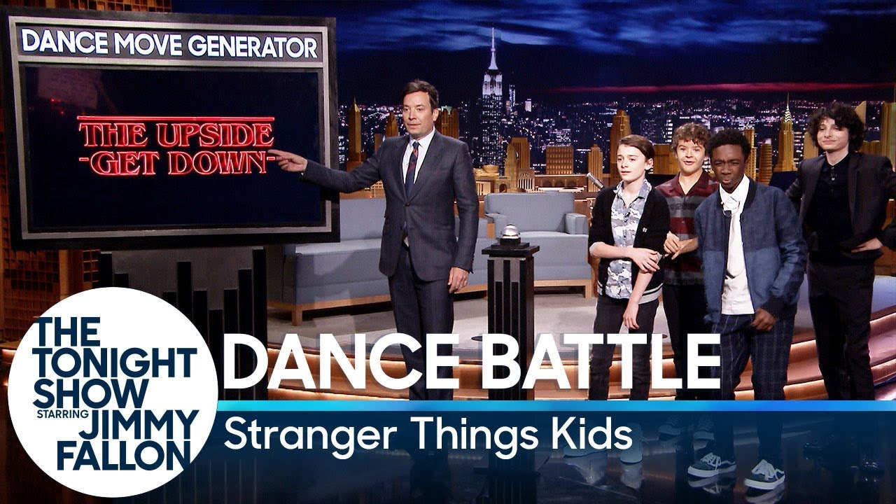 Download Dance Battle with the Stranger Things Kids