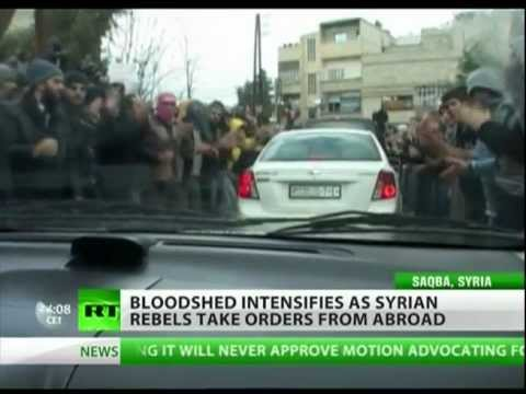 Civil war in Syria: Damascus on fire
