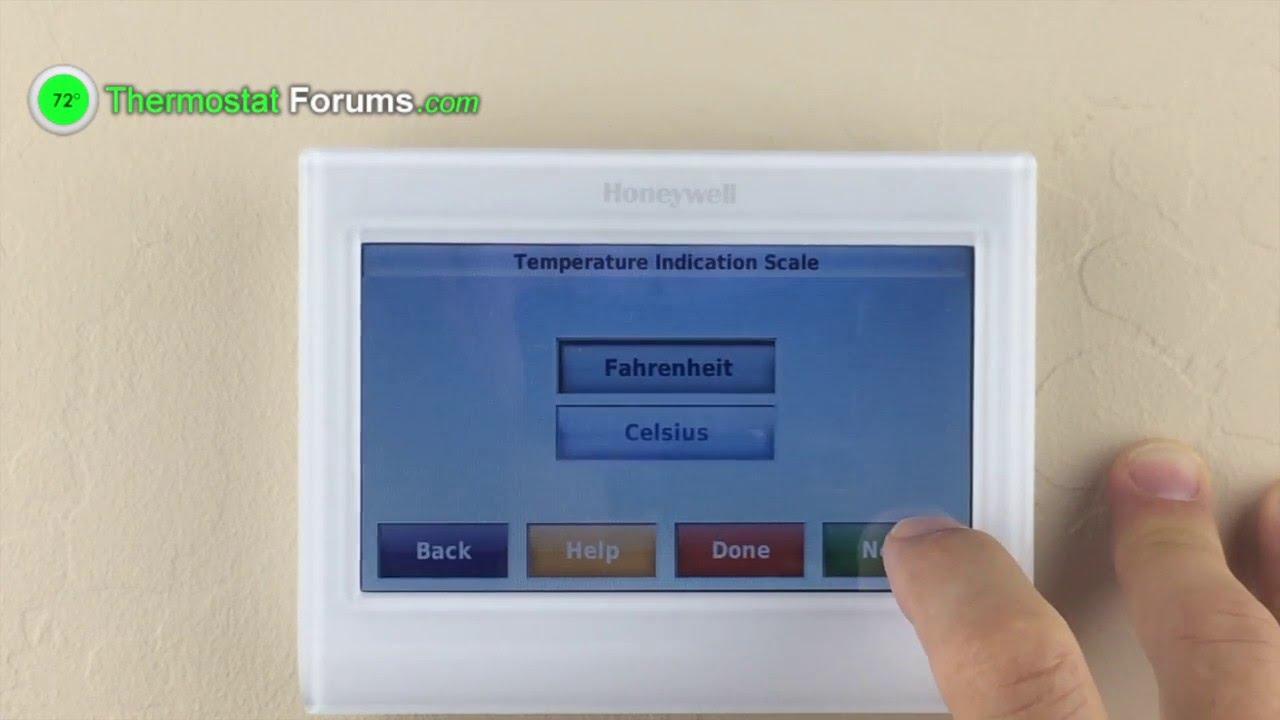 honeywell 9000 th9320wf5003 wi fi thermostat enabling auto rh youtube com Honeywell Thermostat Operating Manual Honeywell Thermostat Operating Manual