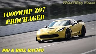 1000whp C7 Z07 Dig & Roll Racing | Stick Shift Vette |
