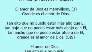 El amor de Dios es maravilloso Pista