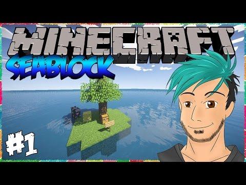 Snake Naufragiat | Minecraft SeaBlock [#1]