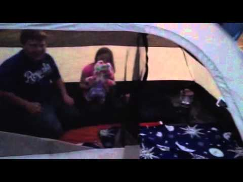 & Timber creek Cumberland II dome tent review from academy - YouTube