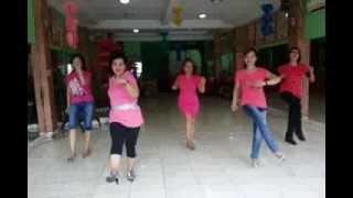 Oh No No - line dance by Penny Tan. Demo by Wenarika, susy, dewi, lia, agung putri