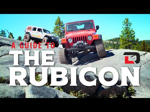 Official Rubicon Trail Off-Roading Guide | Harry Situations