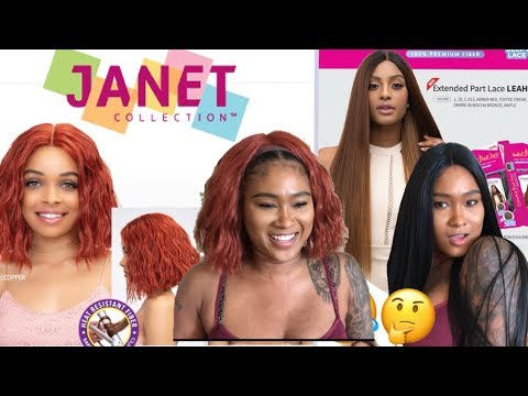 Janet collection wig try onhaul Reviewlook book