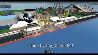 Universal Studios on Roblox!! (Twister Ride, Earthquake, ect..)