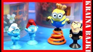 BAJKA Minionki vs Stikeez Smerfy Lidl & Teen Idols Kinder Joy | STRASZNY I ŚMIESZNY MINIONEK