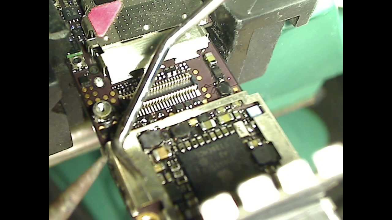 Iphone 4 4g 4s 4gs Backlight Coil Installation Repair