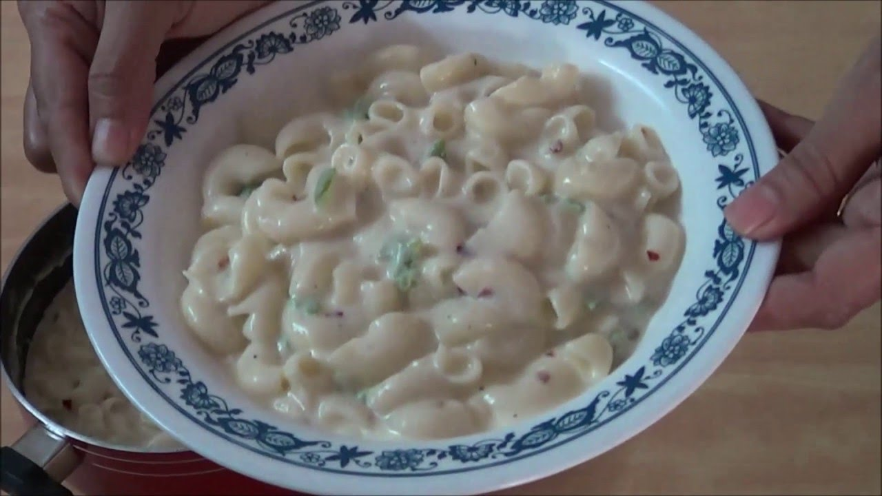 Pasta in white sauce hindi cook paradise youtube forumfinder Images