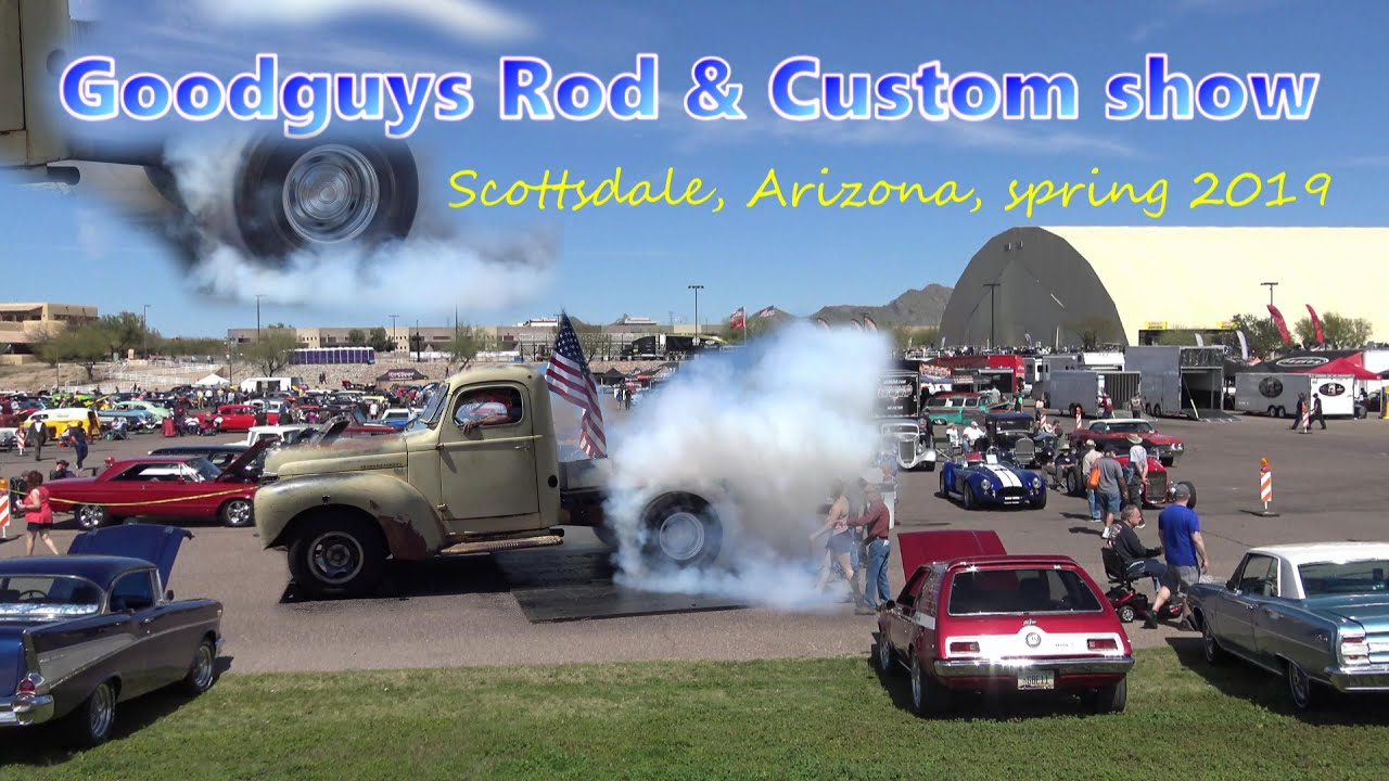 Burnout Winner 1949 International truck smokes 'em down Goodguys Arizona  Samspace81 funny commentary