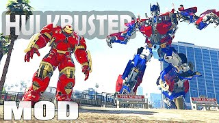 Grand Theft Auto V Mods - IRON MAN V HULKBUSTER (GTA 5 Mods Gameplay)