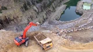 New ZX530LCH-6 Hitachi excavator is fast and powerful
