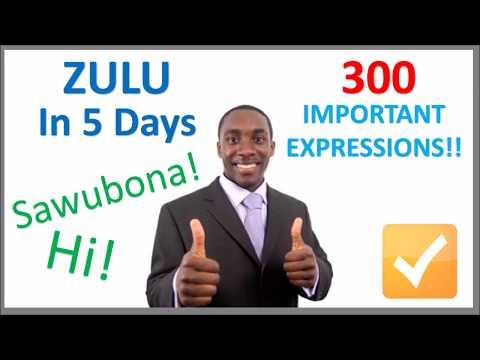 Learn Zulu in 5 Days - Conversation for Beginners